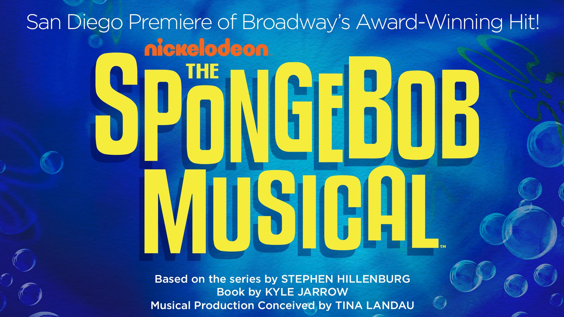 The SpongeBob Musical Logo